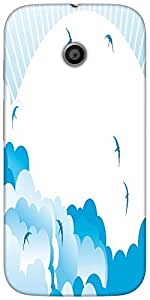 Snoogg Awesome Bright Birdy 2462 Designer Protective Back Case Cover For Moto...