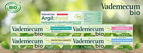 Vademecum – Dentifrice Bio – Blancheur Naturelle – 75 ml