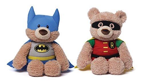[Gund DC Comics Batman and Robin Plush Bears] (Batman And Robin Movie Costumes)