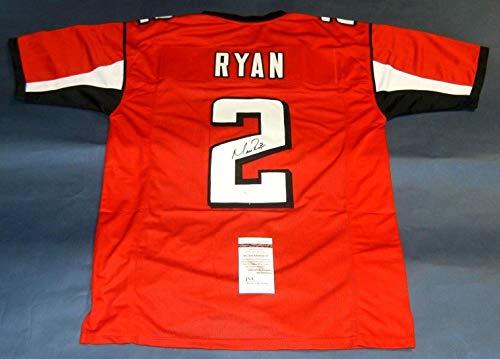 MATT RYAN AUTOGRAPHED ATLANTA FALCONS JERSEY JSA Autographed Atlanta Falcons Jersey Numbers