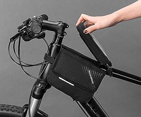 KUANDARMX Bolsa Bicicleta Bolsa De Bicicleta De Doble Cara con ...