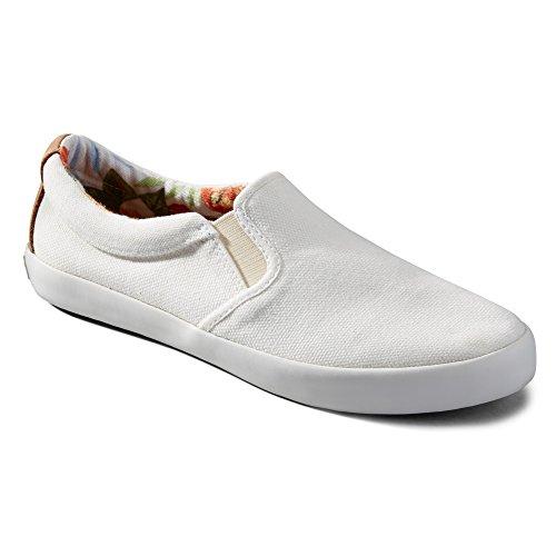 Tommy Bahama Femmes Enisa Toile De Mode Sneakers Ivoire