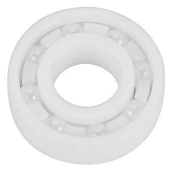 6001 ZrO2 Kugellager Hohe Präzision Vollkeramik Lager 12x28x8mm Sealed Bearing