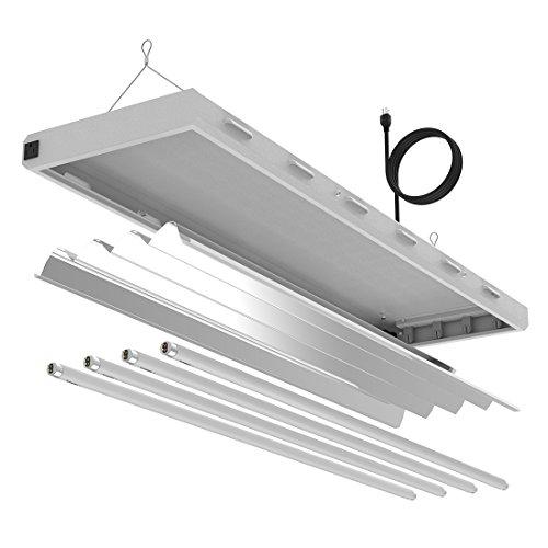 T8 Grow Light Fixture: VIVOSUN 4ft 4-Lamp T5 HO Fluorescent Grow Light Fixture UL