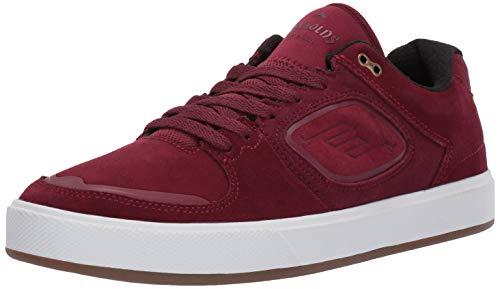 Emerica Men's Reynolds G6 Skate Shoe, Maroon, 10.0 Medium -