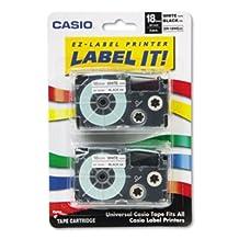 Casio Label Tape XR-18WE2S