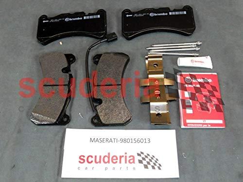 Maserati 980156013 Front Pads Kit Genuine OEM Part Fits Ghibli Quattroporte