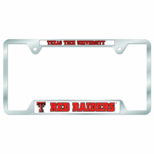 WinCraft NCAA Texas Tech Red Raiders License Plate Frames, ()