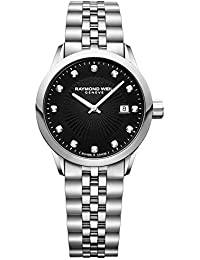 'Freelancer Ladies' Quartz Stainless Steel Casual Watch, Color:Silver-Toned (Model: 5629-ST-20081)