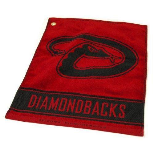 - MLB Arizona Diamondbacks Jacquard Woven Golf Towel