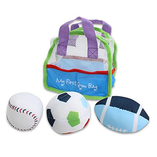 "Kids Toy Gym Bag (10""x8""x5"") - Baby Boy and Toddler Gift Set for Christmas"