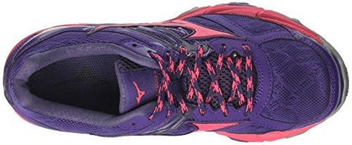 4 62 graystone Mujin Wave Para Running Wos Zapatillas mulberrypurple Multicolor Mizuno Mujer De azalea EBSxwqnU