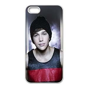 iPhone 5 5s Cell Phone Case White hd75 austin mahone pop singer music celebrity VIU173112