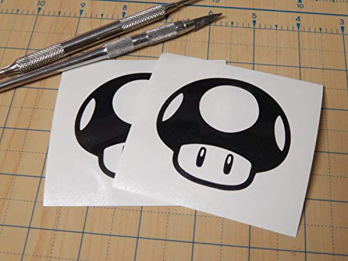 CELYCASY Toad Sticker Toad from Mario Decals