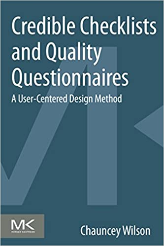 Credible Checklists and Quality Questionnaires: A