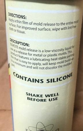 ISOKOTE 1000 Silicone Release Agent