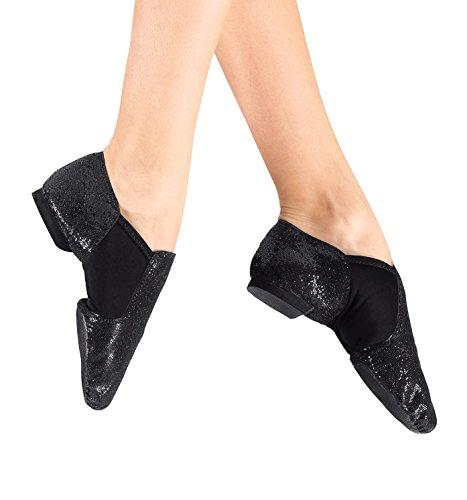 [Adult Glitter Jazz Shoes,DAZZLEGOL10.5M,Gold,10.5M] (Gold Glitter Jazz Shoes)