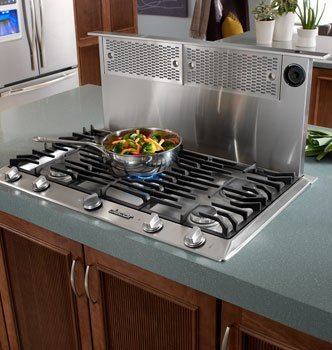 Renaissance Epicure ERV3015 30 Downdraft Range Hood With Easy-To-Clean Filters Infinite Blower Speed Control & In Stainless Steel (Hood Downdraft)