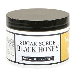 Archipelago Botanicals Black Honey Sugar Scrub, 8 Oz