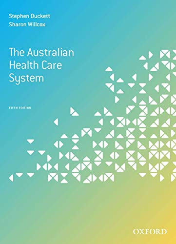 (The Australian Health Care System, Fifth Edition)
