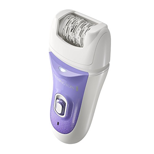 Remington Smooth & Silky Deluxe Rechargeable Epilator, Purple, EP7030E (Renewed)