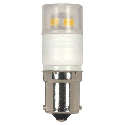 Pack of 25 LED 2.3W BA15S 5000K LED Light Bulb Satco S9223