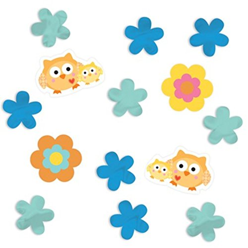 Club Pack of 12 Blue Happi Tree Party Confetti Bags 0.5 (Happi Tree Confetti)