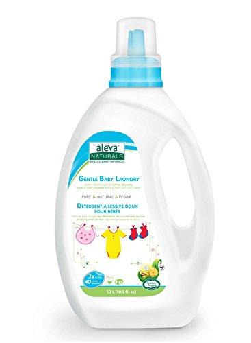 - Aleva Naturals Gentle Baby Laundry, (40 Loads) 40 fl.oz / 1.02L