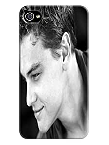 custom fashionable Cool Leonardo Dicaprio lightweight phone case cover for iphone 4/4s with TPU skin
