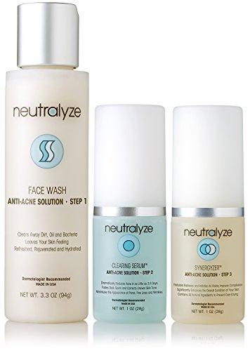 Neutralyze Moderate to Severe Acne Treatment - Anti Solution Kit Redness