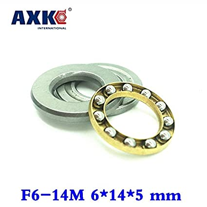 10pcs//lot F12-23M Axial Ball Thrust Bearing 12mm x 23mm x 7.5mm