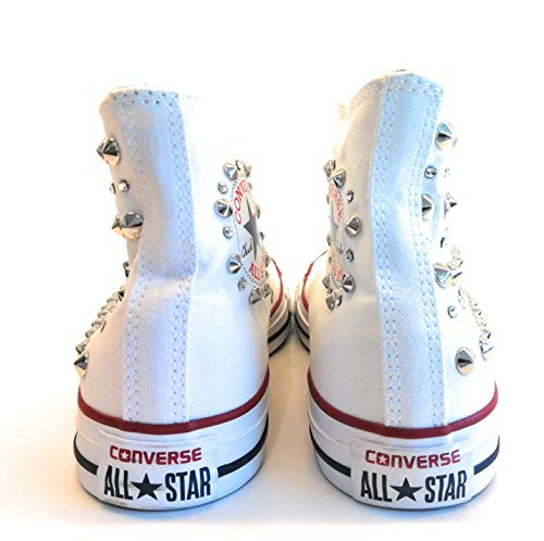 STRASSE Sneaker E Borchie Personalizzata 39 con con TG Converse wOqO6Yxpf