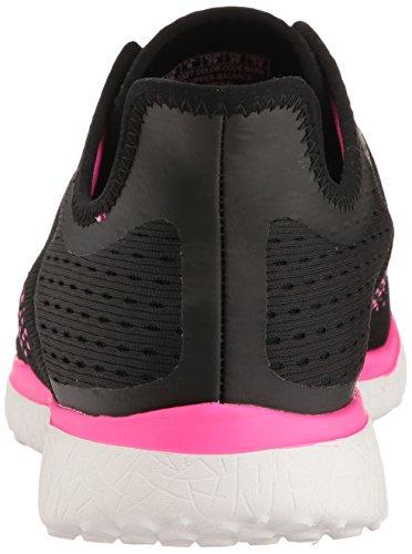 Skechers Sport Frauen Microburst Supersonic Fashion Sneaker Schwarz / Pink