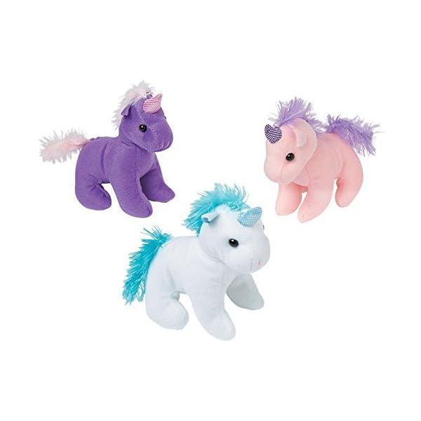 "Unicornio de peluche 6"" animales de peluche (12Unicorns Total)"