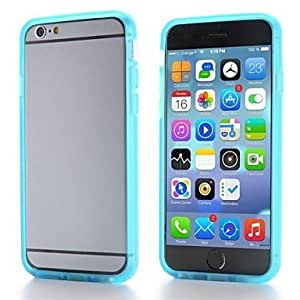PEACH New Arrival Flexible Soft TPU Bumper Frame Case for iPhone 6(Assorted Colors) , White
