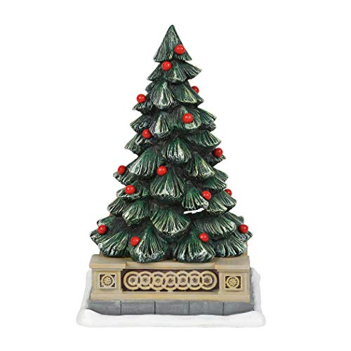 Holiday Collection Tree (Department 56 Collections Classic Christmas Holiday Tree Figurine Village Accessory Multicolor)