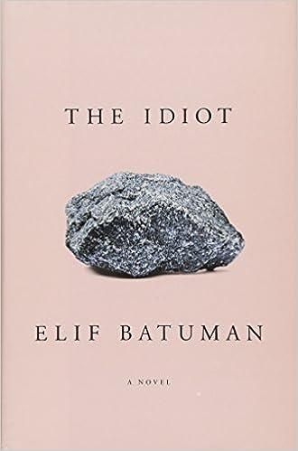 The Idiot: Elif Batuman: 9781594205613: Amazon com: Books