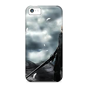 CalvinDoucet Snap On Hard Cases Covers Black Scorpion Protector For Iphone 5/5s