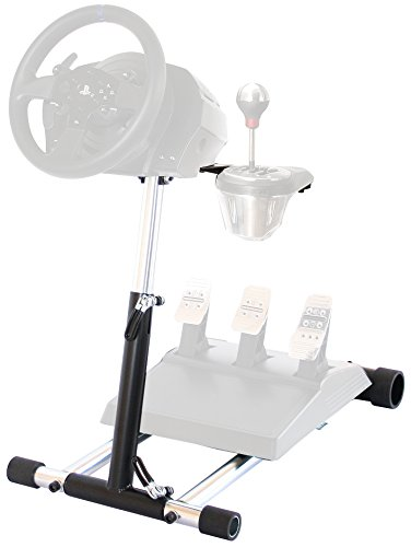 (Wheel Stand Pro TX Deluxe Steering Wheelstand Compatible With Thrustmaster T500RS, T300RS, TX458, TS-TW, TS-PC, TX Leather,T150, T150 Pro, GT, T-GT and TMX/TMXPRO. V2. Wheel & Pedals Not included)