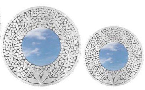Deko Spiegel deko spiegel zara holz 2 größen wandschmuck grösse ca 30 cm