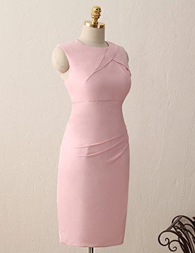 C¨®ctel Verde Corto las Vestidos De Trabajo de Moda Oficina Gasa mujeres Trajes gala HUINI Formal YgqwA