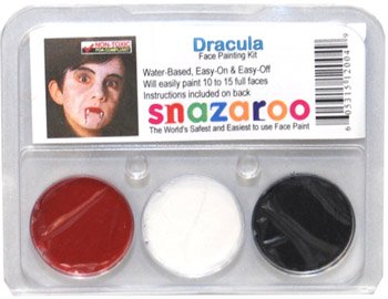 DRACULA THEME PACK Snazaroo Face Paint Theme Set -