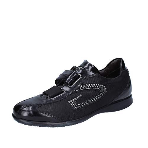 Alberto Guardiani Fashion-Sneakers Womens Leather Black 4-4.5 ()