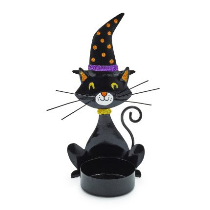 Sur La Table Cat Tealight Candle Holder