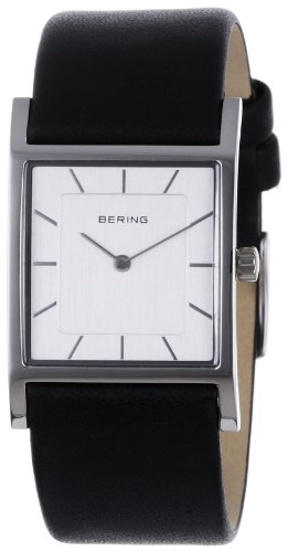 BERING Time 10426-400 Womens Classic Collection Watch with Calfskin Band and super hardened mineral glass. Designed in Denmark.
