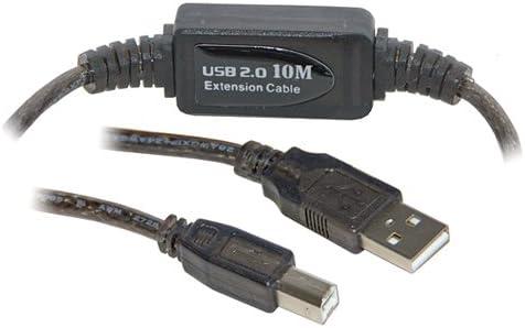 15 m USB 2,0 A B para impresora Active/dispositivo Cable de ...