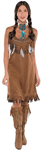 (Amscan Native American Halloween Costume for Women, One)
