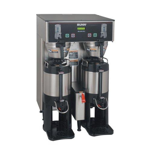Thermofresh Dbc Brewers - Bunn 34600.0006 Dual TF DBC BrewWise ThermoFresh Coffee Brewer, 16.3 Gal/Hr