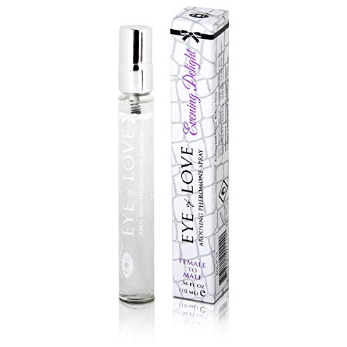 (Eye Of Love: Evening Delight - Pheromone Perfume [Attract Men] Pheromones For Women - Pheromone Perfume Spray - Elegance - Extra Strength Human Pheromones Formula - for Work - For Play {Travel Size})