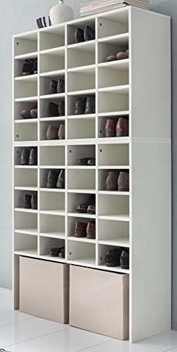 schuhschrank gro e schuhe schuhschrank weiss grosses schuhregal weiss dekor. Black Bedroom Furniture Sets. Home Design Ideas